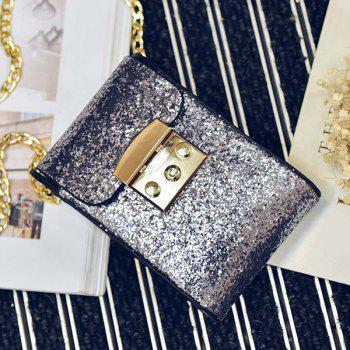 Sequin Chains Cross Body Bag
