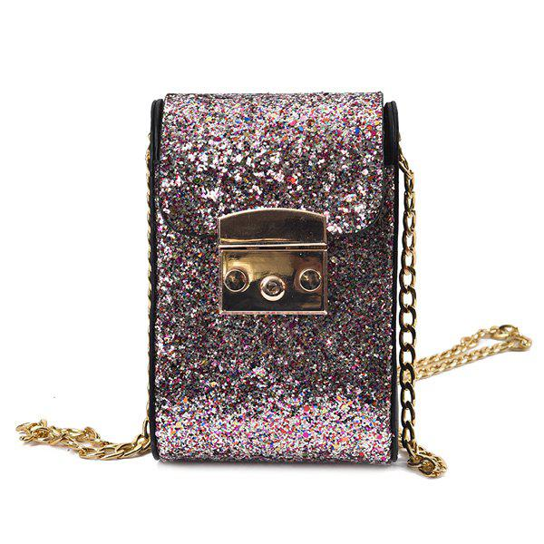 cde13284b71 2018 Sequin Chains Cross Body Bag COLORMIX In Crossbody Bags Online ...