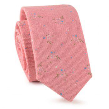 Tiny Flowers Printed Neck Tie