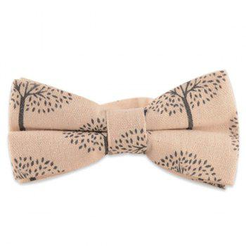Little Tree Cotton and Linen Bow Tie