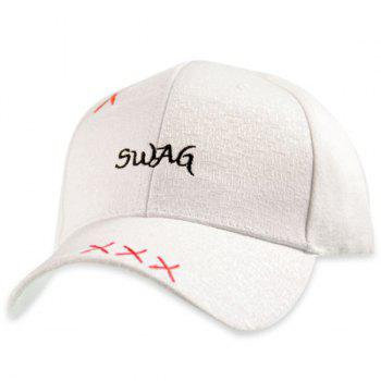 Adjustable Letters Embroidered Baseball Cap
