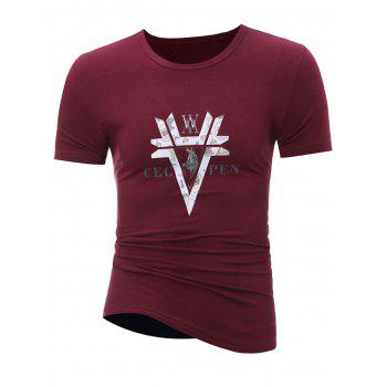 Stretchy Muscle Graphic T-Shirt