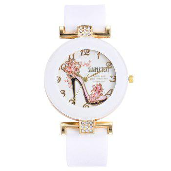 Pumps Pattern Number Silicone Watch
