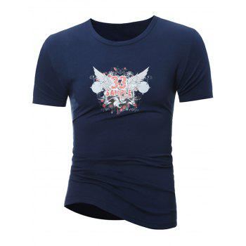 Short Sleeve Graphic Print T-Shirt