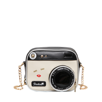Camera Shaped Cross Body Novelty Bag