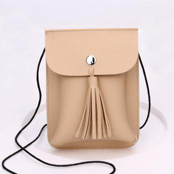 Tassel Cross Body Cellphone Bag
