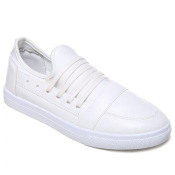 Tie Up Stretch Fabric Casual Shoes