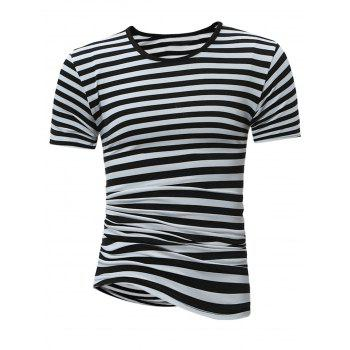 Slim Fit Stripe T-Shirt