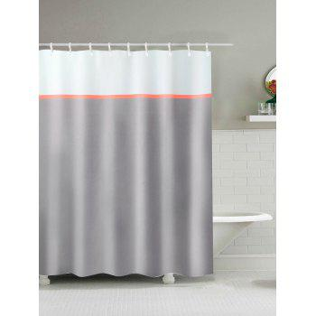 Water Repellent Polyester Shower Curtain