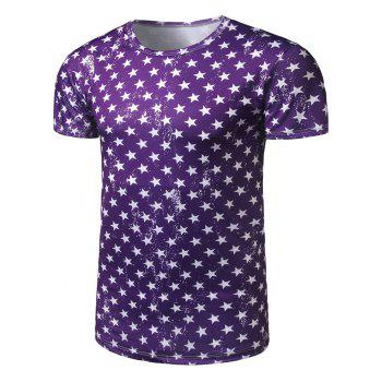All Over Stars Printed Tee