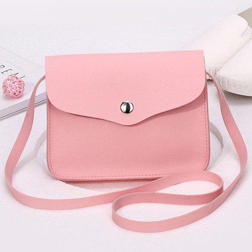 Envelope Mini Cross Body Bag - PINK
