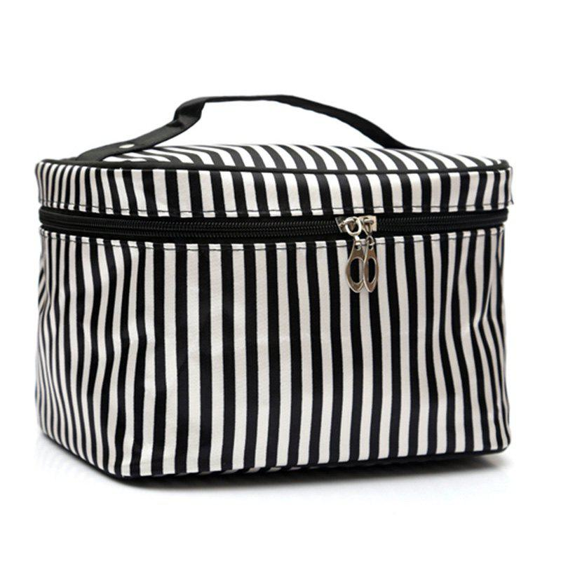 Imprimer Satin Cosmetic Bag - Rayure