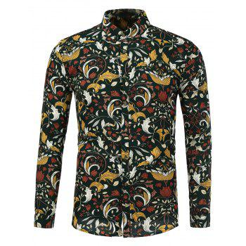 All Over Print Casual Shirt