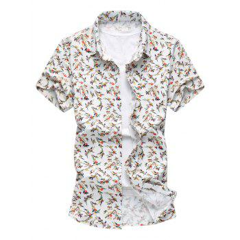All Over Print Stretchy Short Sleeve Shirt