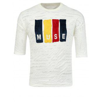 Muse Graphic Destroyed T-Shirt