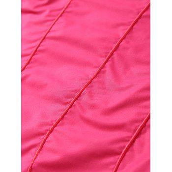 Cotton Fleece Wavy Ombre Kids Mermaid Blanket - BABY PINK BABY PINK