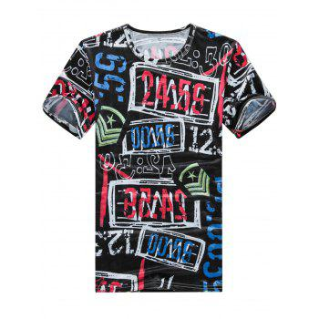 Graphic Stretch T-Shirt