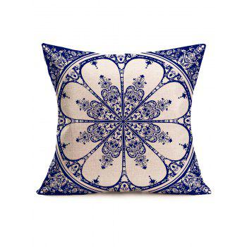 Ethnic China Linen Square Sofa Pillowcase