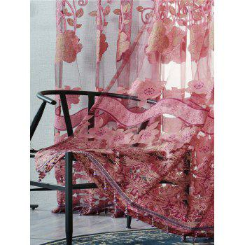 Jacquard Window Sheer Tulle Curtain For Living Room - W39 INCH*L79 INCH W39 INCH*L79 INCH