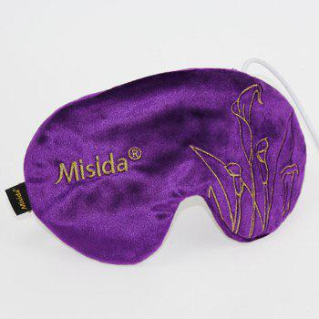 Voyage Sleeping Soft Cover Shade Blindfold - Pourpre