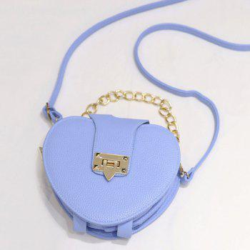 Heart Shaped Chains Crossbody Bag