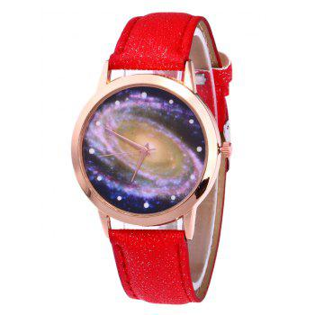 Starry Sky Pattern Quartz Watch