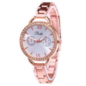 YBOTTI Rhinestone Wrist Quartz Watch