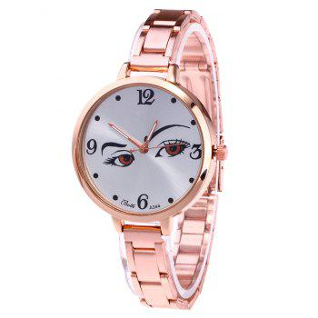 YBOTTI Alloy Wrist Watch with Pretty Glance