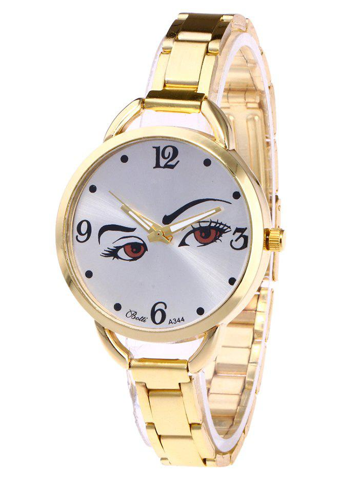 YBOTTI Alloy Wrist Watch with Pretty Glance ideco village people vp 2201