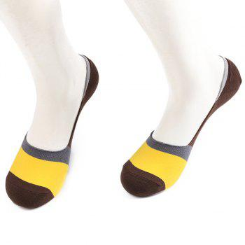 Skidproof Color Block Sperry Socks