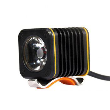 Waterproof T6 LED USB Rechargeable Front Bike Light - BLACK BLACK