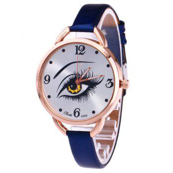 YBOTTI Quartz Watch with Beauty Eye