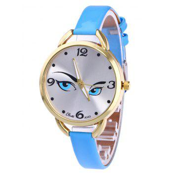 YBOTTI Quartz Watch with Pretty Glance