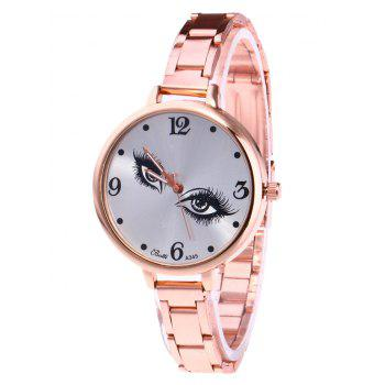 YBOTTI Wrist Watch with Pretty Eyes