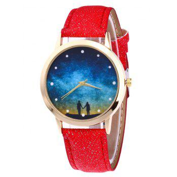 Glitter Strap Starry Sky Watch