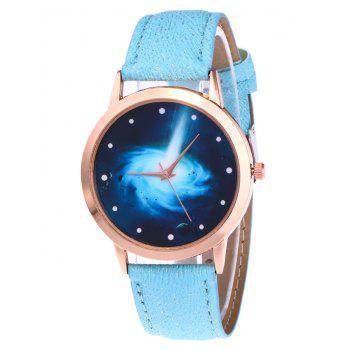 Glitter Strap Starry Vortex Watch