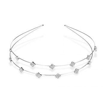 Trendy Rhinestone Rhombus Hairband For Women