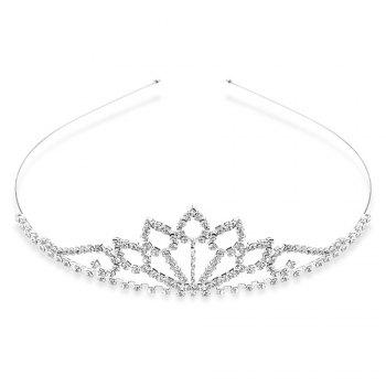 Gorgeous Rhinestone Water Drop Crown For Women