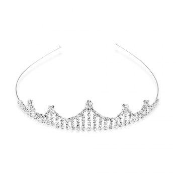 Gorgeous Rhinestone Hollow Out Crown For Women