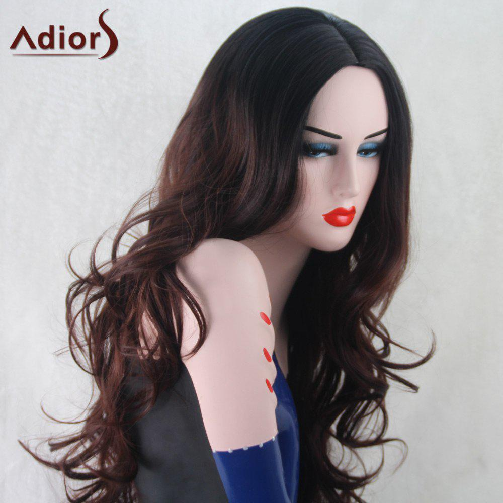Adiors Wavy Centre Parting Synthetic Long Wig centre speaker