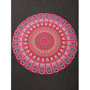 Motif Tribe Throw Plage Round Cover - multicolorcolore ONE SIZE