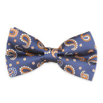 Paisley Embroidery Vintage Bow Tie