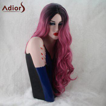 Adiors Long Wavy Gradient Centre Parting Capless Synthetic Wig