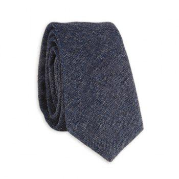 Cotton Denim Neck Tie
