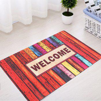 Non-Slip Absorbent Rubber Stripe Bath Mat
