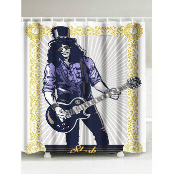 Hip-Hop Bathroom Decor Shower Curtain