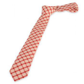Lattice Design Neck Tie -  CHECKED