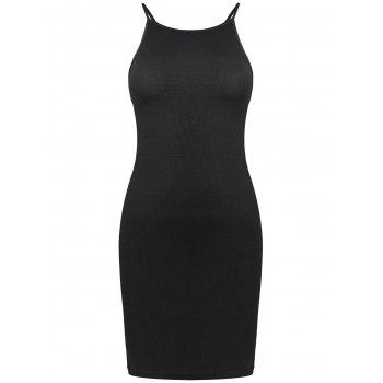Criss Cross Mini Cami Sheath Dress