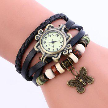 Number Analog Vintage Bracelet Watch