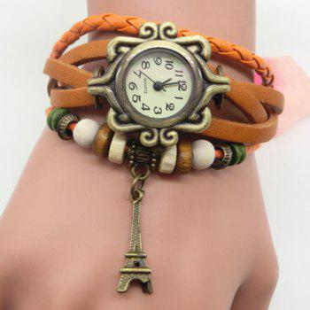 Eiffel Tower Vintage Bracelet Watch